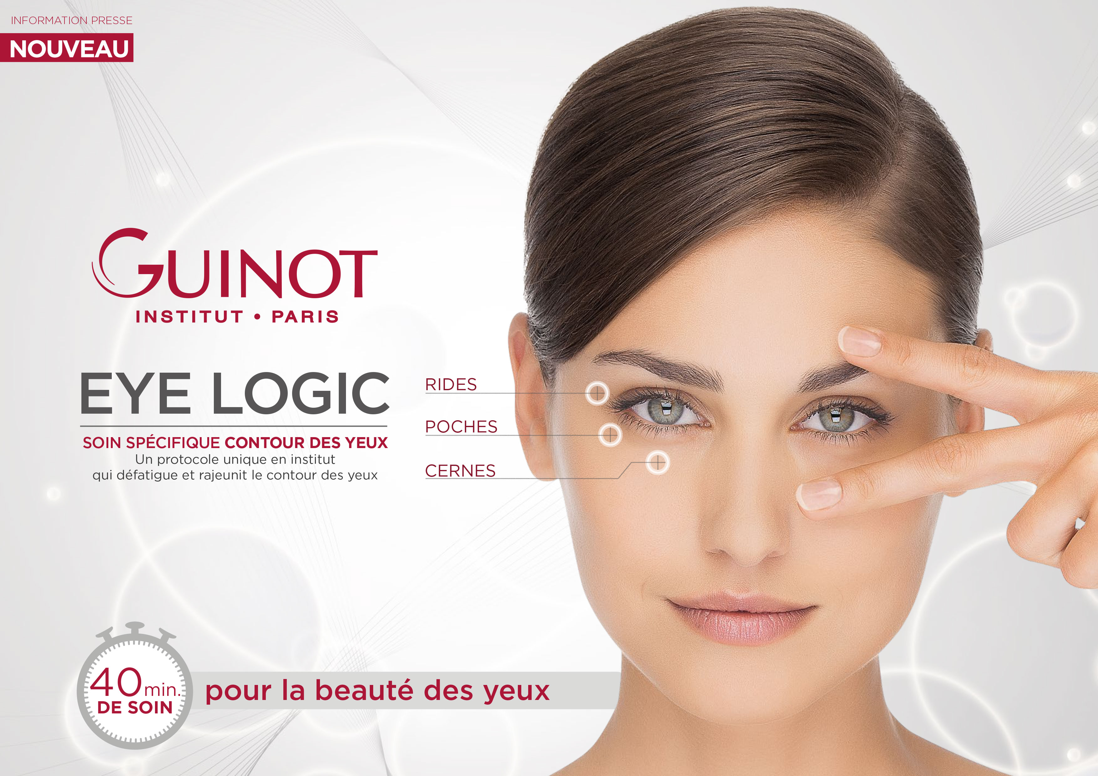 Tratament EYE LOGIC Guinot - Salon ELIA STUDIO