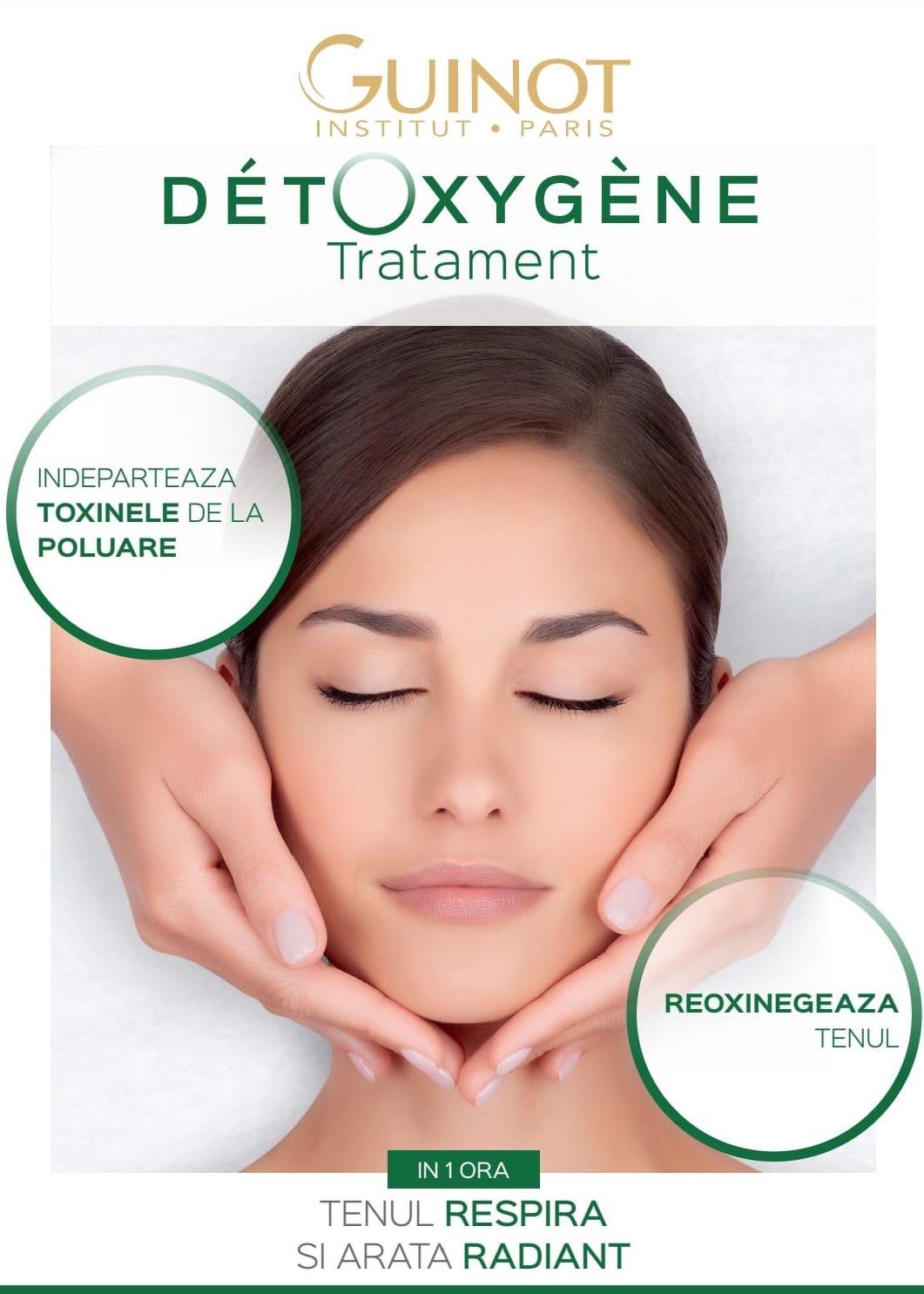 Tratament Detoxygene Guinot Salon Elia Studio Suceava